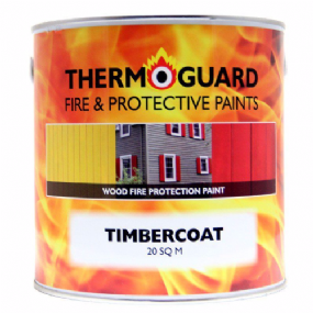 Thermoguard Timbercoat Intumescent Fire Retardant Wood & Timber Paint  | paints4trade.com